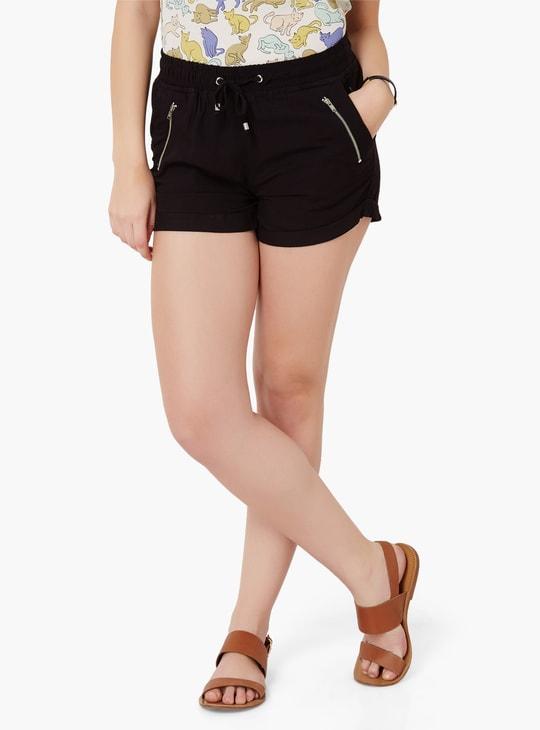 MAX Roll-Up Hem Shorts