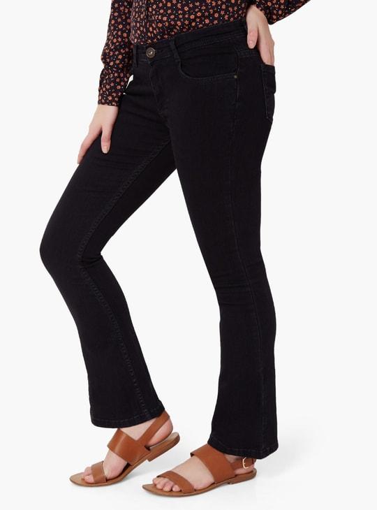 MAX Dark Wash Flared Jeans