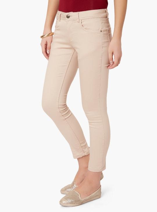 MAX Pastel Blush Skinny Jeans