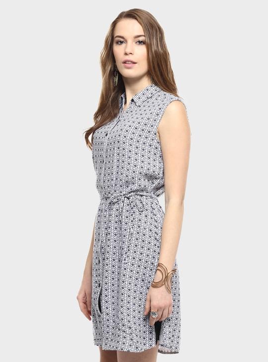 MAX Printed Shirt Dress