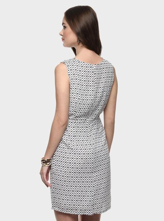 MAX Printed Sleeveless Dress