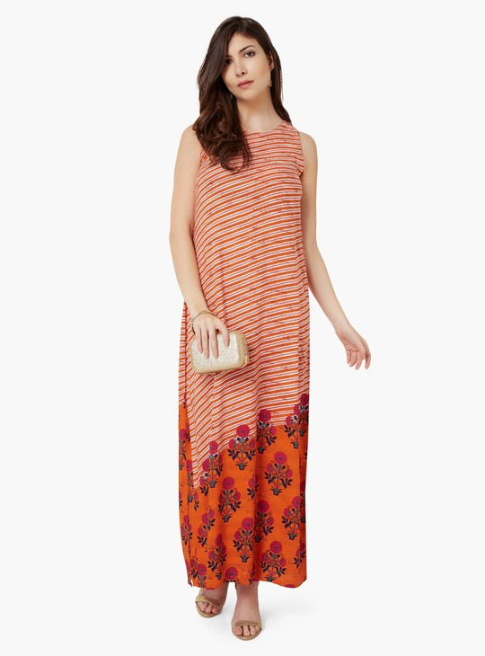 MAX Sleeveless Maxi Kurta