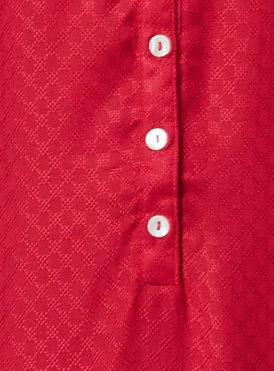 MAX Button Placket Sleeveless Kurta