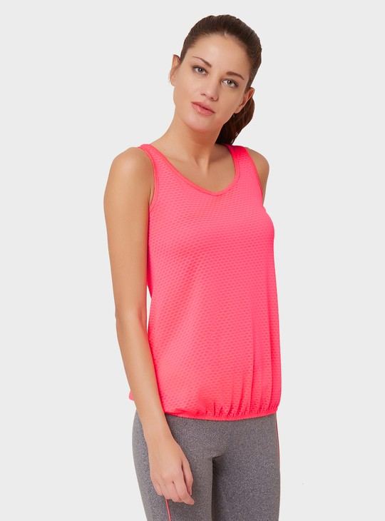 MAX Sleeveless Elasticated Waist Top