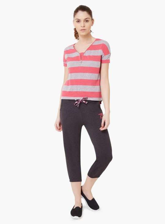 MAX Striped Sporty Top