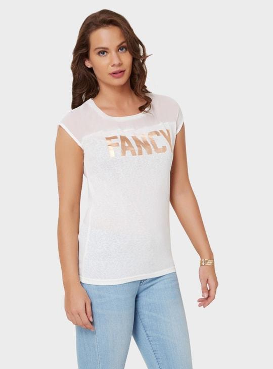 MAX Shimmer Print T-Shirt