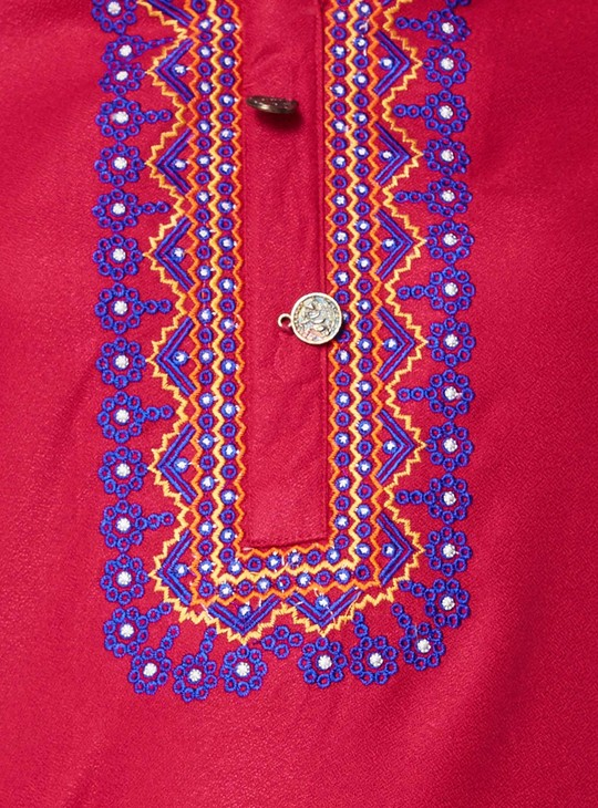 MAX Classic Embroidered Kurta