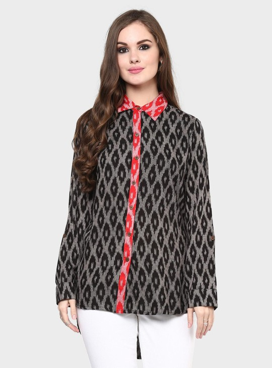 MAX Printed Shirt Tunic
