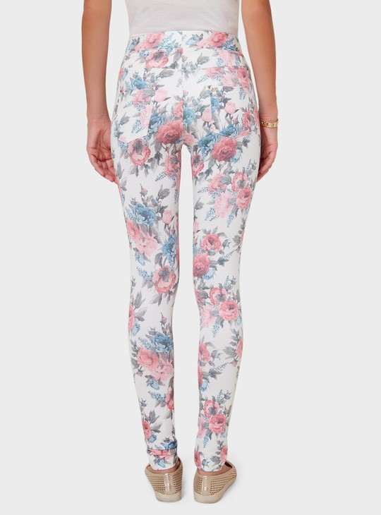 MAX Floral Print Jeggings