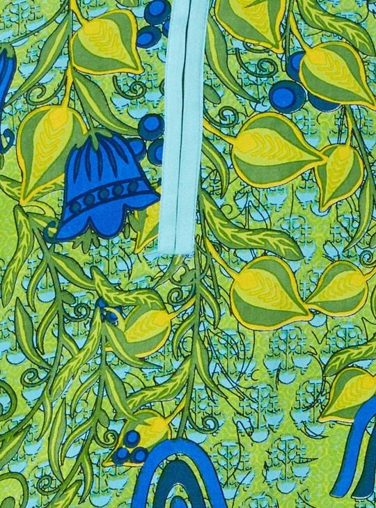 MAX Printed Band Collar Kurta