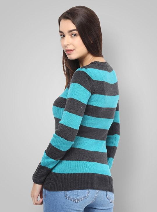 MAX Striped Sweater