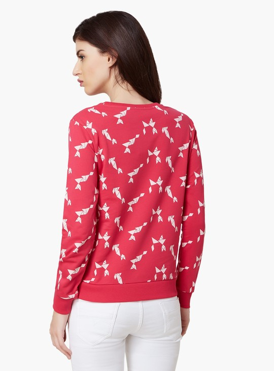 Max Origami Print Sweatshirt