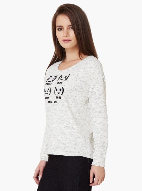 MAX Chest Imprint Full Sleeves T-Shirt