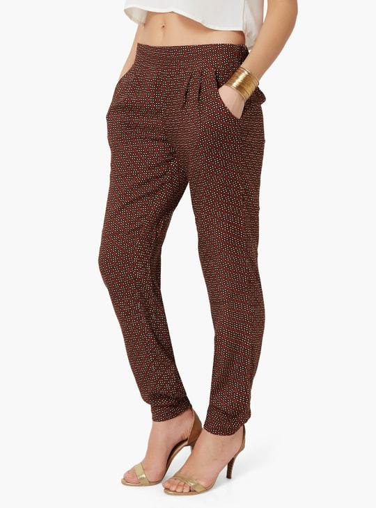 MAX Printed Pocketed Pants