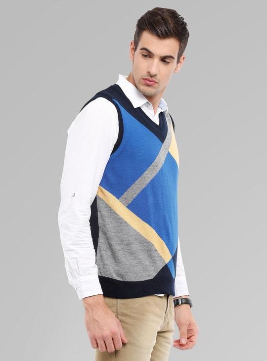MAX Sleeveless V-Neck Sweater