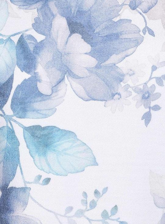 MAX Floral Print Layered Top