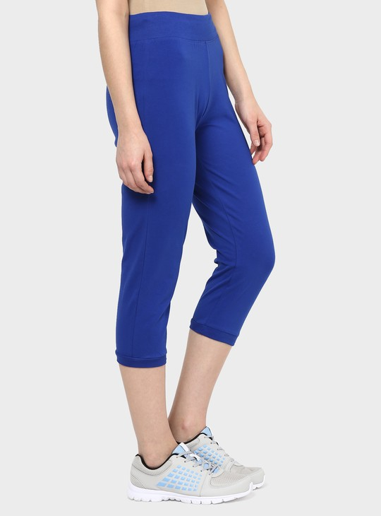 MAX Solid Sporty Capris