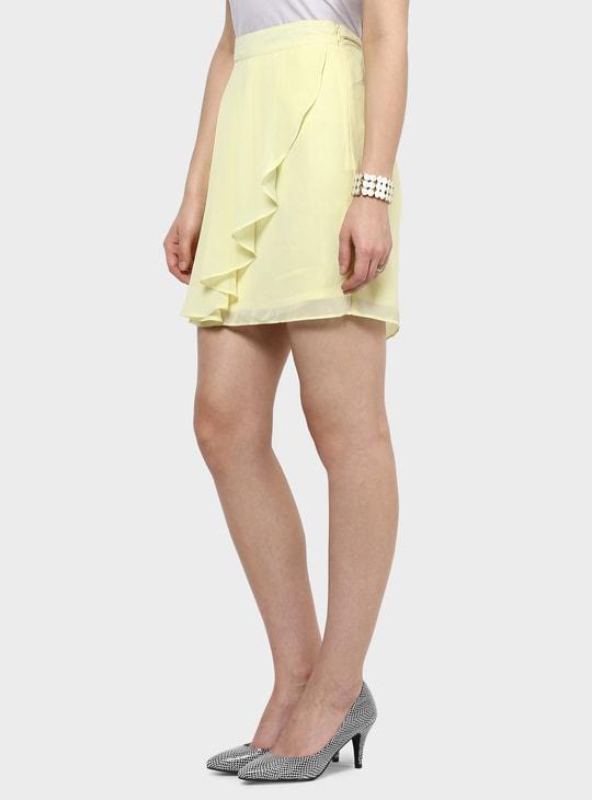 MAX Pleated Midi Skirt