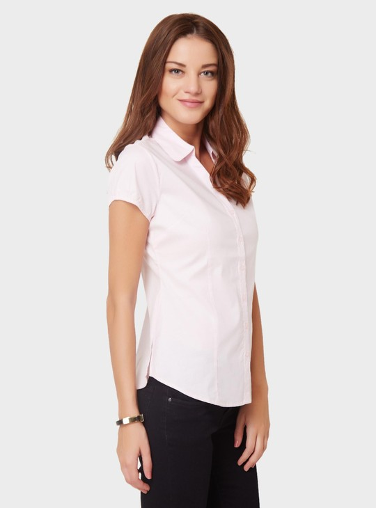 MAX Solid Short Sleeves Shirt