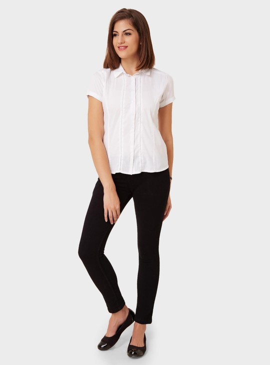 MAX Solid Short Sleeves Shirt