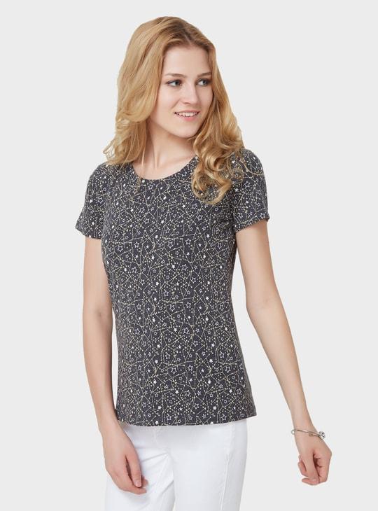 MAX Starry Print Slim Fit T-Shirt