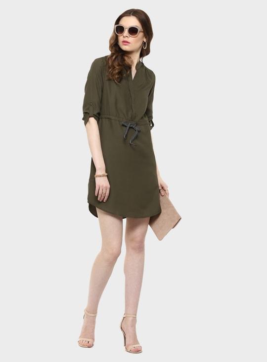 MAX Solid Shift Dress