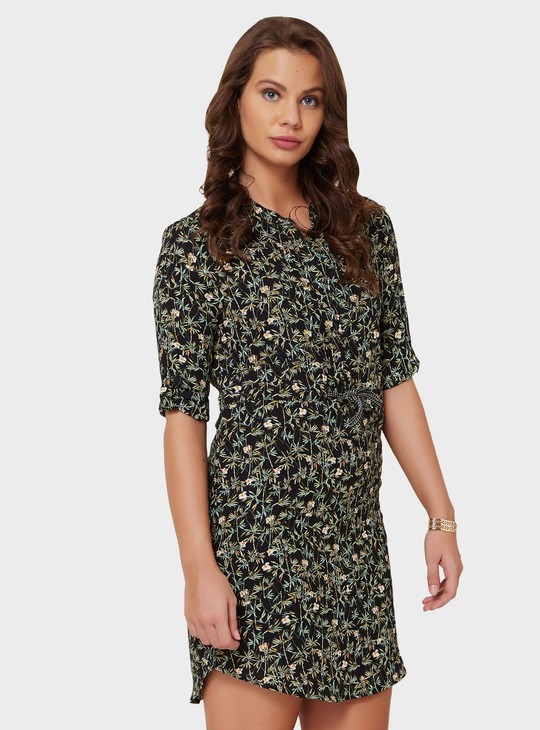 MAX Printed Shift Dress