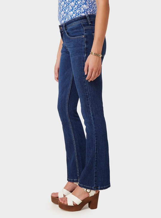 MAX Five Pocket Flared Jeans
