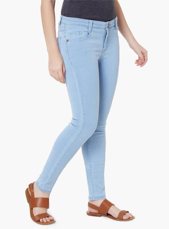 MAX Light Wash Skinny Jeans