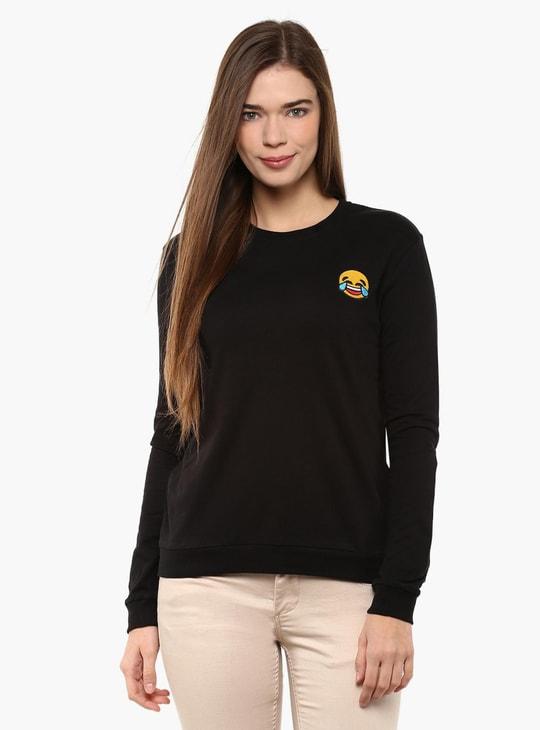 MAX Smiley Badge Sweatshirt