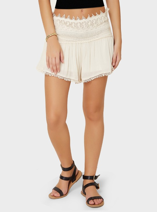 MAX Lace Waistband Shorts