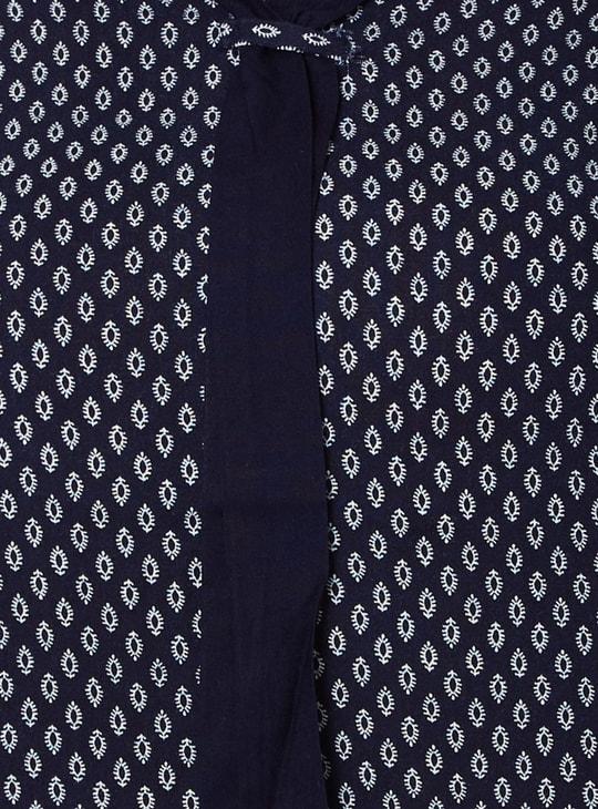 MAX Printed 3/4th Sleeves Blouse