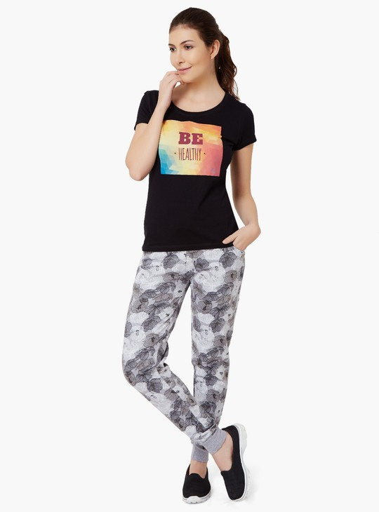 MAX Be Healthy Round Neck T-Shirt