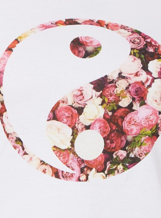 MAX Yin & Yang Imprint T-Shirt