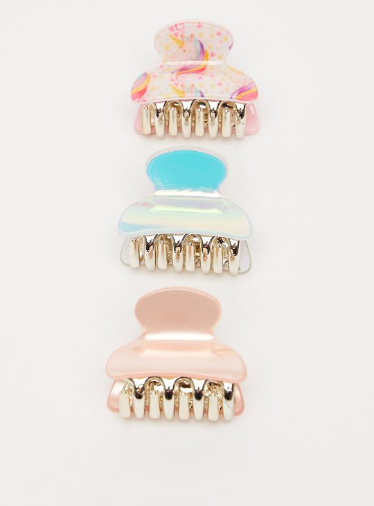 Set of 3 - Textured Hair Clamp