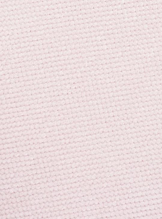 سجادة حمام مستطيلة بارزة الملمس - 70x45 سم