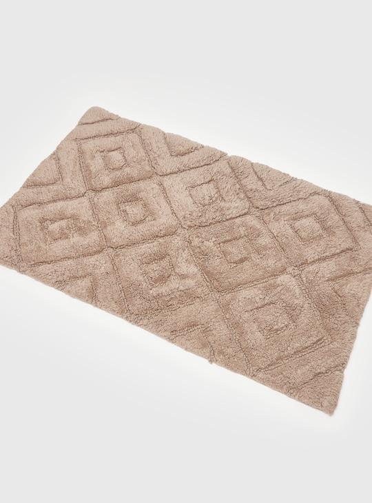 سجادة حمام بارزة الملمس - 50x80 سم