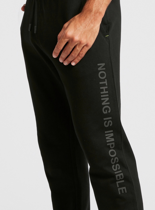 Full Length Pants with Elasticised Waistband