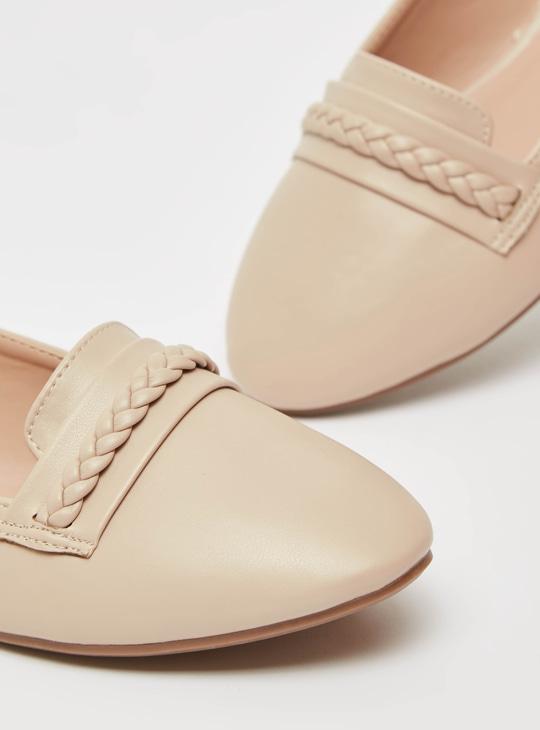 Solid Slip On Ballerinas