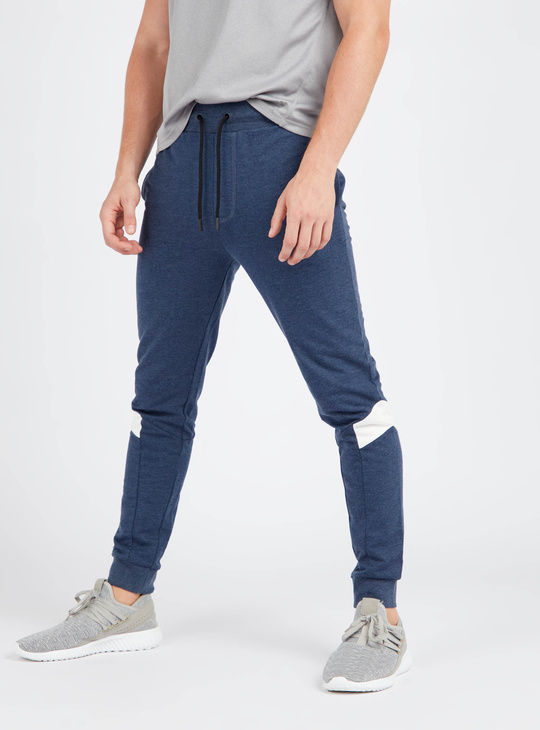 Full Length Anti-Pilling Jog Pants with Side Pockets and Drawstring