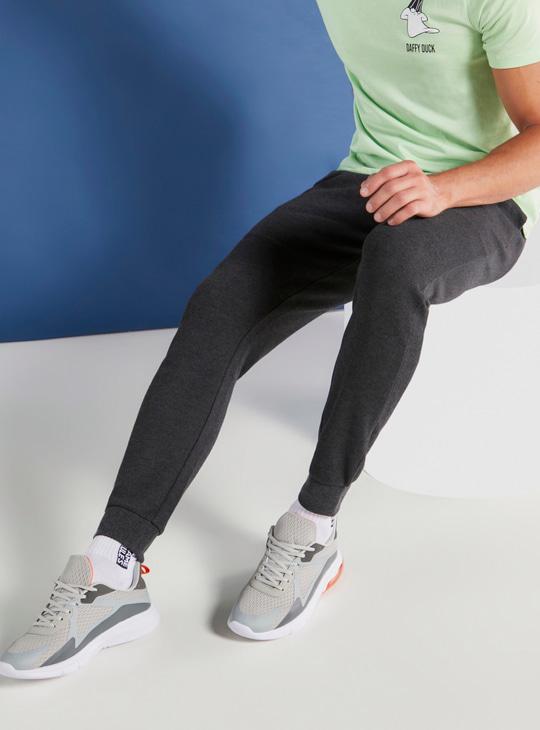 Full Length Jog Pants with Pockets and Drawstring