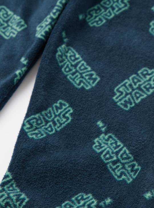 Cozy Collection Star Wars Print Long Sleeves T-shirt and Pyjama Set