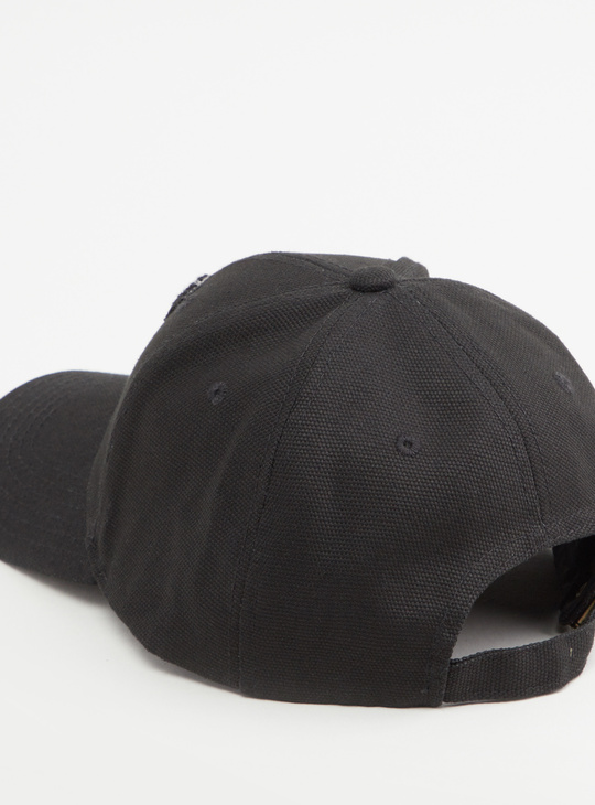 Textured Cap with Place Buckle Closure