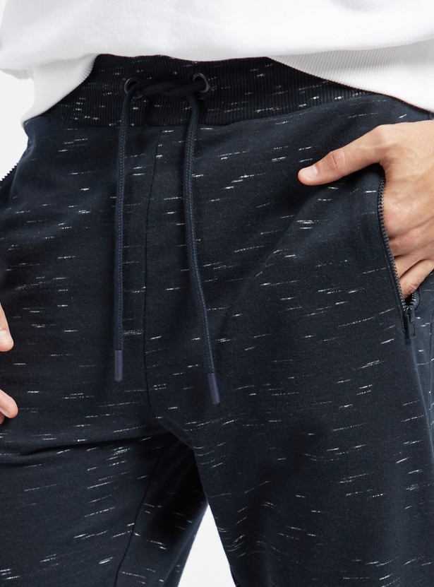 Space-Dyed Jog Pants with Pockets and Drawstring