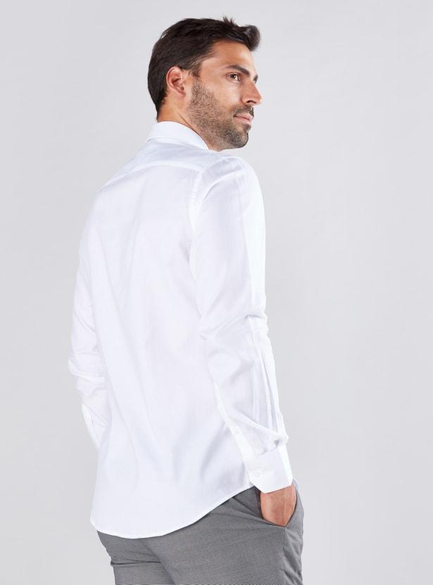 Long Sleeves Shirt in Slim Fit