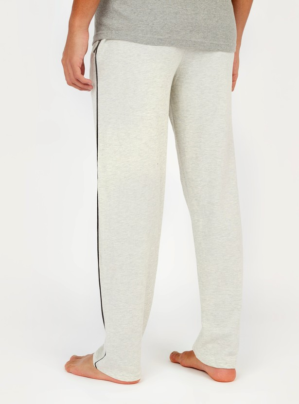 Textured Pyjama with Pockets and Drawstring