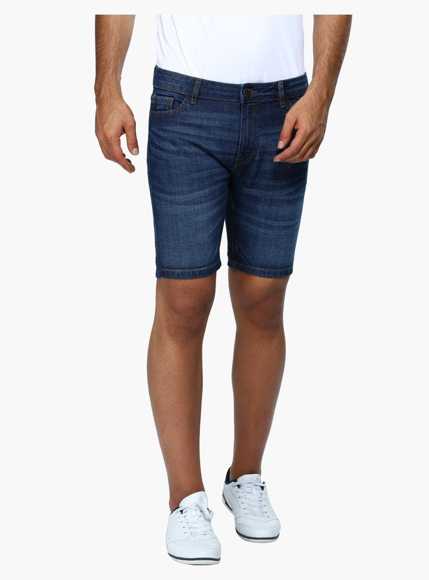 Denim Shorts in Slim Fit