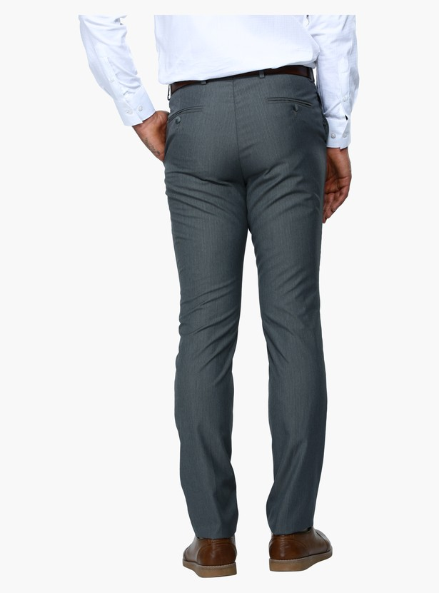Slim Fit Formal Trousers