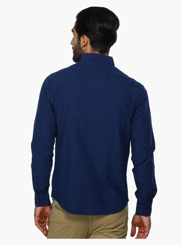 Printed Long Sleeves Shirt in Regular Fit