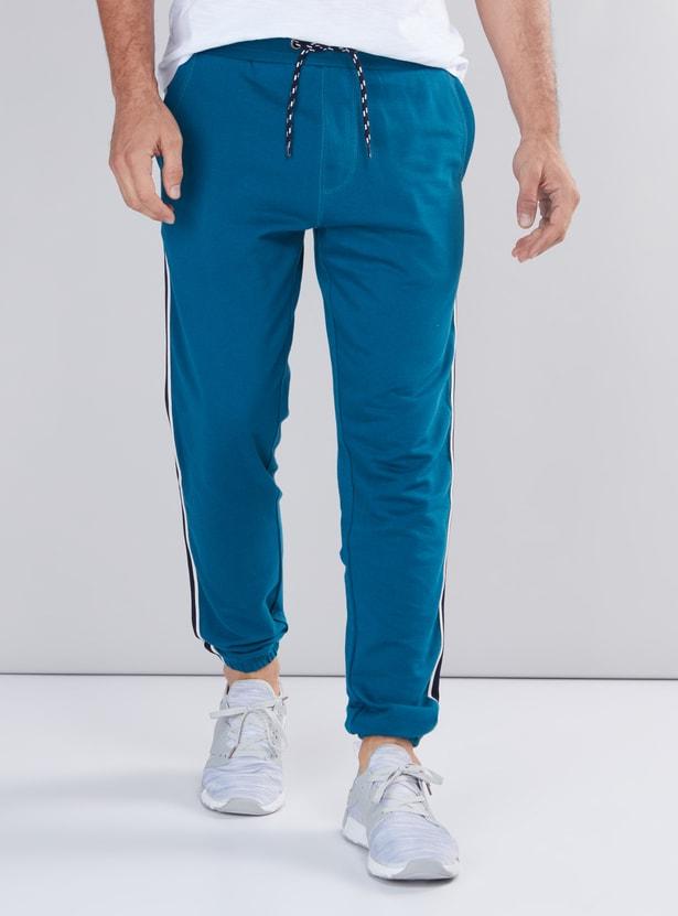 Full Length Jog Pants with Elasticised Waistband and Drawstring
